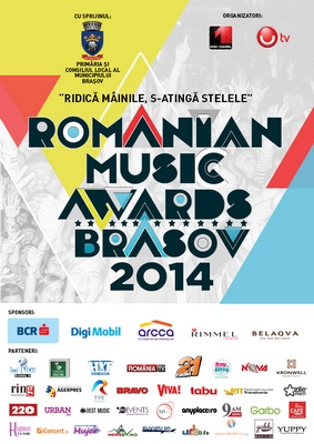 romanian music awards brasov 2014