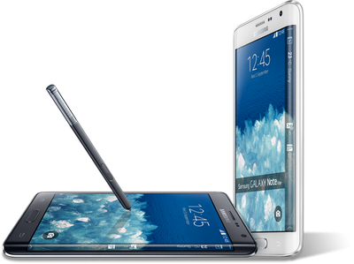 Samsung Galaxy Note Edge si note 4